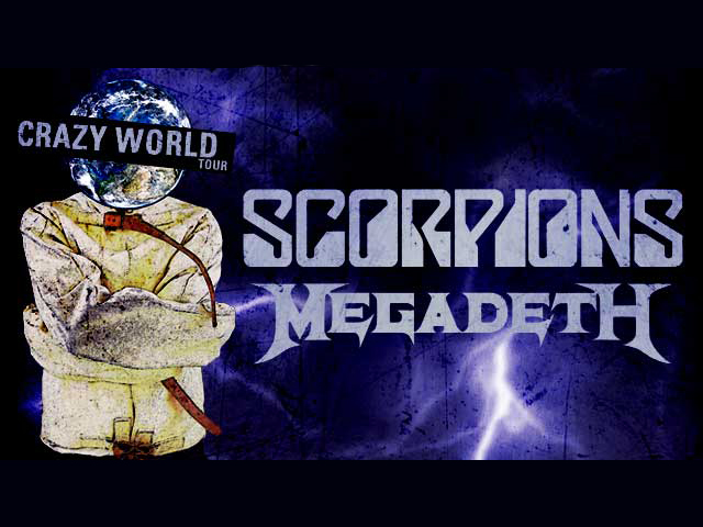 2017 – Scorpions | Crazy World Tour
