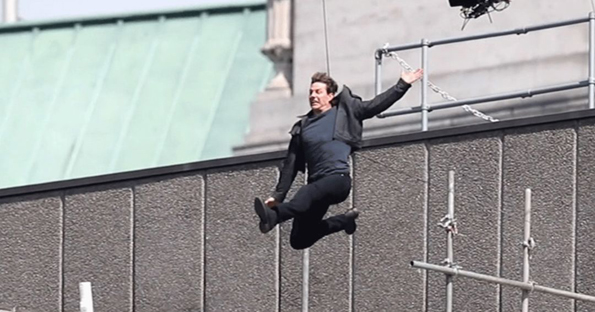 Tom Cruise injury halts filming on Mission Impossible 6