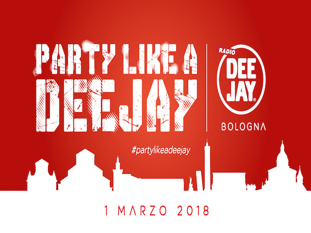 2018 – PARTY LIKE A DEEJAY | Live Event
