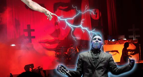 Marilyn Manson accusa Dio per i suoi recenti incidenti sul palco