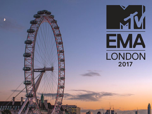 2017 – MTV EMAs | London