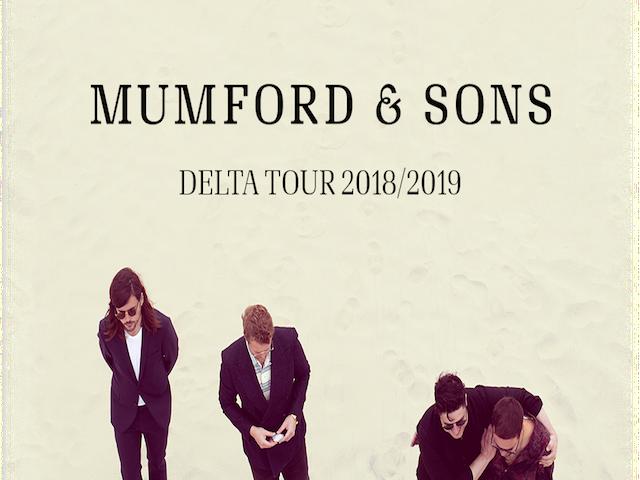 2018/19 – Mumford & Sons | Delta Tour
