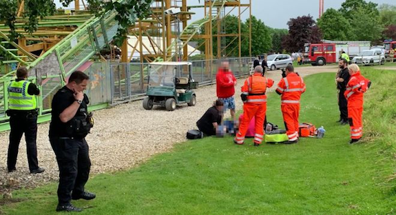 Lightwater Valley theme park: Boy in 'rollercoaster fall' critically ill