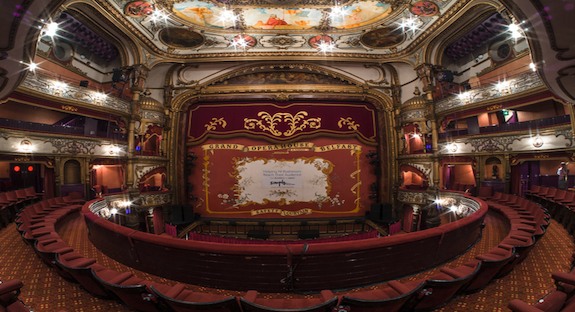 How has the design of theatre buildings changed over time?