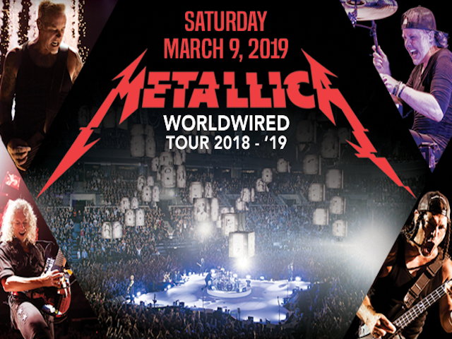 2019 – Metallica | WorldWired Tour