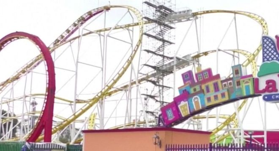 Mexico rollercoaster crash leaves two dead