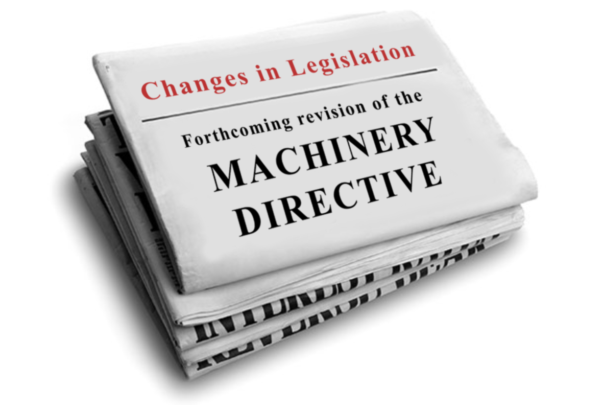 Forthcoming revision of the Machinery Directive