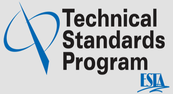 Six ESTA TSP standards approved and published